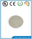 Batterie de bouton de lithium de cellules de pièce de monnaie des cellules Cr2016 3V de bouton