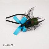 LiSatin avec le bandeau de paon, pièce ving affectueuse du bandeau (WA-10077) réglée (8602)