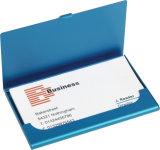 Caixa de cartão conhecido do crédito do negócio do metal de alumínio feito sob encomenda da promoção mini