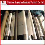 Llanura de la fábrica de aluminio Aluminio/medidor de luz para el radiador de aluminio de aletas de la lámina de aire acondicionado 1100 1200 8011 3102 Templar H22 H24 H26