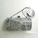 Bolsa de la Noche de cristal (WH340negro+Silver)