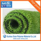 roulis vert de film plastique de PVC de 630X0.5mm pour l'herbe artificielle