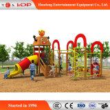 Parque Infantil Exterior Beaitiful Cartoon Funny Escalada slide Equipamento (HD-MZ049)