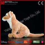 De Levensechte Zachte Stuk speelgoed Gevulde Dierlijke Australische Wilde Hond van de Pluche van de Dingo ASTM