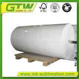"""Jumbo Roll 58gramos 63""""el papel de transferencia para sublimación textil tejido/"""