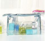 Kosmetische Zak van de Zak van de Opslag van de Handtas van de Handtas van pvc de Duidelijke Transparante Waterdichte Vacuüm