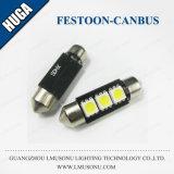 Lâmpada da matrícula do festão do diodo emissor de luz de S8.5 3SMD 6SMD 5050 Canbus