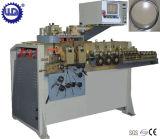 Anel hidráulico automático do fio liso do metal que bobina dando forma à máquina