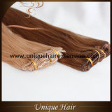 毛の拡張のRemyロシアのクリップ