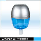 De gemakkelijke en Draagbare Zilveren Plastic Zuiveringsinstallatie van de Fles van het Drinkwater