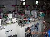 Línea automática de doble bolsa de camiseta que hace la máquina (ZDFR-400 * 2)