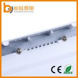 AC85-265V는 주조 알루미늄 표면에 의하여 거치된 18W 정연한 LED 위원회를 정지한다