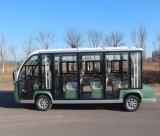 Certificado CE 11 lugares Autocarro Turístico eléctrico fechado