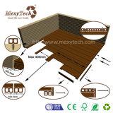 UV protéger le Decking composé en bois en plastique de WPC pour le projet d'ingénieur