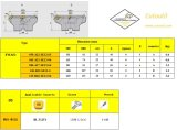 표준 맷돌로 가는 공구와 일치하는 강철 Hardmetal를 위한 Cutoutil 삽입 Fma02-050-A22-Se12-03