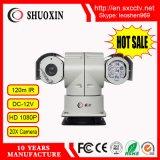 câmera de alta velocidade do IP do CCTV do CMOS 2.0MP HD IR PTZ do zoom 20X