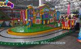 Parque de Atracciones de bomberos de ferrocarriles eléctricos tema viaje en tren