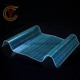 波形のプラスチック屋根ふきシート2.0mmの透過壁FRPのパネル