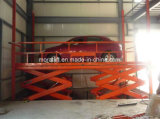 Elevador subterráneo hidráulico del coche del CE