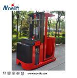 Máquina desbastadora elétrica cheia fácil do pedido da plataforma de trabalho da operação 1000kg da maquinaria de impressão da almofada com tirante da bateria