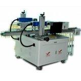 Новая конструированная двойная машина маркировки лазера Heads&Rails автоматическая для медных шестерен