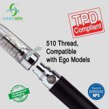 Kindersicherer Verschluss für Zerstäuber Ce4 mit Tpd anerkannter E-Zigarette
