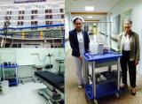 AG-NT003A1 con ganchos de infusión Hospital Medical Cesta carro de anestesia