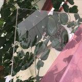 Folha rígida do PVC do espaço livre transparente para dobrar-se