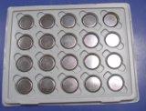 Lithium-Ionenmünzen-Zellen-Batterien 3V der Batterie-Cr2477