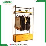 Деревянные одежды висящей одежде для установки в стойку для одежды магазин