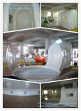 Tente gonflable de pelouse de bulle claire pour camper