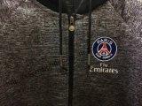 Одежды пальто спортов Gery человека темные с клобуком и шнуром Fw-8714