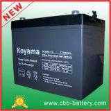 batería profunda del gel del ciclo de 12V 85ah para el carro de golf