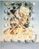 Salvador Dali Huile sur toile - 07