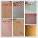 contre-plaqué stratifié par Bintangor/Okoume/Poplar/Cherry/Teak/Birch de 4/6/9/12mm pour des meubles