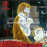 LEDの照明H: 2.5m * L: 3m Luces De Navidad Christmasの装飾のNatityライト