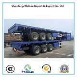 中国60tの貨物トレーラー。 販売のための半側面のトレーラー