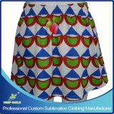 Custom Sublimation Mesdames Lacrosse Sports jupe pour vêtements de sport sans garniture