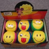 Softball do PVC da forma do basebol do projeto da face do sorriso