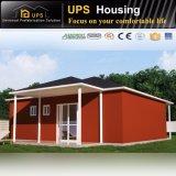 certificat CE maisons modulaires préfabriquées avec décorations de luxe