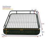 Universal Steel Roof Cargo Basket Rack com Wind Fairing