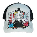 5 Группа вышивка Snapback сетка бейсбола Trucker Red Hat (TRT024)