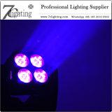 4X15W LEDのマトリックスのディスコDJ党ライトのための移動ヘッドビームライトRGBW 4in1