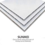 PVDF/PET beschichtetes und kundenspezifisches Aluminiumwabenkern Swanwich Panel für Baumaterial, Stufe A2