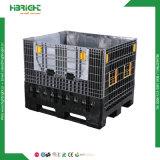 Caixa de paletes dobráveis de plástico grande recipiente de armazenamento