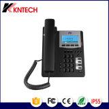 Telefone Desktop do escritório do telefone do IP do telefone do ponto de entrada de VoIP