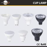 좋은 품질 7W Gu5.3/MR16/GU10 LED 램프 컵 스포트라이트