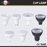 De Buena calidad de alta potencia Gu5.3 MR16 GU10 Caja de cerámica de la Copa de lámpara LED 5W 7W Spotlight