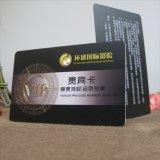 Cartão de sociedade esperto plástico da identificação VIP do PVC do nome de negócio de Cmyk
