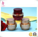 Настраиваемые круглого красного косметический Jar для ухода за кожей упаковки